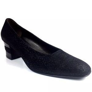 Salvatore Ferragamo Suede Heels Size 8.5 Italy